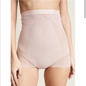 SPANX Lace Collection High Waisted Briefs NWOT